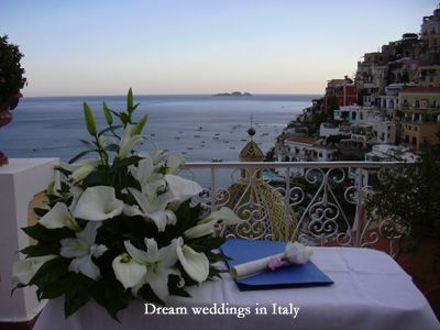 Wedding in Positano…