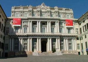 Fronte del Palazzo Ducale di Genova