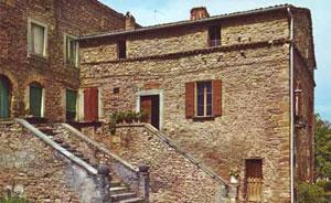 Dettaglio sulla Casa di Mussolini