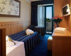 Dettaglio su camera dell'Hotel Sporting a Rimini