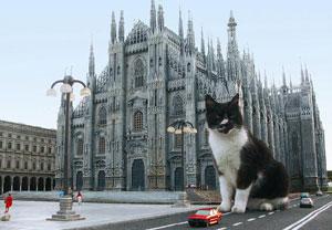 Dettaglio su Duomo di Milano all'Italia in Miniatura
