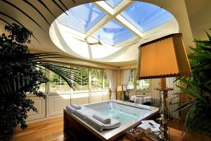 Suite con idromassaggio alla Villa Orsogrigio