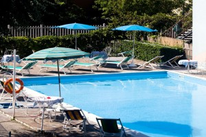 Piscina dell'Hotel Oceanic a Bellariva di Rimini