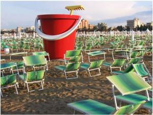 Spiaggia convenzionata con Hotel Capri