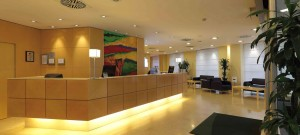 Hall dell'Holiday Inn Milan Garibaldi Station a Milano