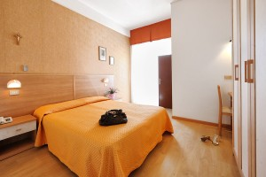 Camere dell'Hotel Mirabel a Viserba di Rimini