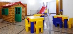 Sala giochi presso Hotel Europa