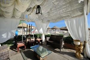 Spiaggia privata di Hotel Thea