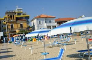 Spiaggia Hotel Mirabel a Viserba